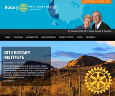Zones 25 and 26 (West Coast Region), led by RI Director Steve Snyder, have incorporated Rotary's updated visual identity into their website. Visit them here: http://zone2526.org/