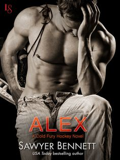 and because I just couldn't resist.  You should've heard the squeals in the office when this cover came through :-)  I think he has earned a spot on #HockeyHottie #HunkDay #AlexSawyerBennett