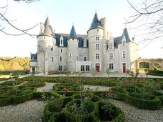 French Chateau for sale in 86 - Vienne , Poitou Charentes France. This superb ISMH-listed Château is situated 45 km from Poitiers, conveniently close to small towns with amenities. Set in a magnificent location on a hillside overlooking the valley, in 32 ha of grounds comprising woods and meadows and bordered by a river. Its defensive towers bear testimony to its medieval past, whilst recent renovations ensure comfortable living accommodation. Swimming pool and tennis court. Numerous ...
