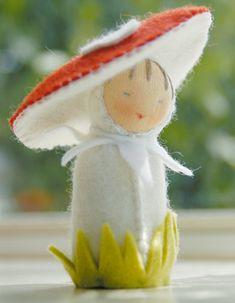 felt dolls, toy, sewing crafts, woodland creatures, craft patterns, fairi, fairy dolls, felt flowers, mushrooms