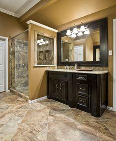 Bathroom designs on pinterest contemporary bathrooms for Bathroom remodel keller tx