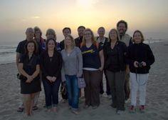 Group shot on Venice Beach, California