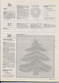 crochet - Natal - Christmas - Punto de red Nº 41 - 2001 - Raissa Tavares - Álbumes web de Picasa