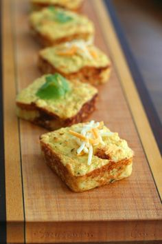 Cheesy Mashed Cauliflower Puffs