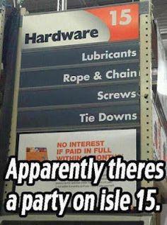 my kinda hardware store
