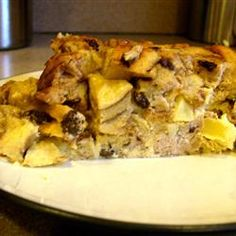 Apple Raisin French Toast Strata Allrecipes.com