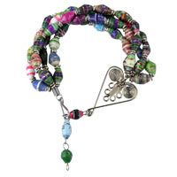 Recycled Magazine Healing Hearts Bracelet at The Animal Rescue Site