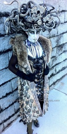 Art Deco Medusa Costume