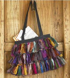 rag purse~cute