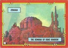 Masters of the Universe trading card #7 front