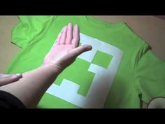 How to make a creeper t-shirt