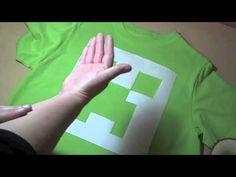 How to make a creeper t-shirt