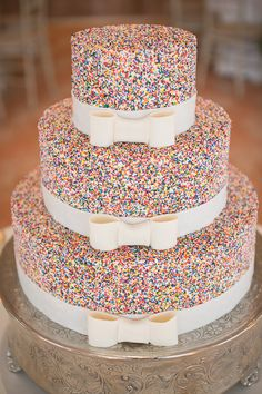 color, sprinkles, shower cakes, wedding cakes, party cakes, unique weddings, parti, bridal showers, birthday cakes