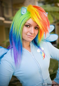 Rainbow Dash, My Little Pony costume