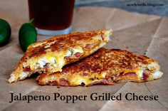 Jalapeño Popper Grilled Cheese.