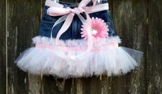 Denim and bandana tutu  | Denim Tutu Skirt