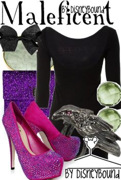 Disney's Maleficent inspired clothing