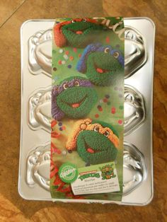 Wilton Ninja Turtle Cake Pan Instructions