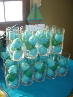 Cake balls for a baby shower