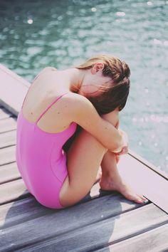 Pink Swimwear.