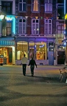 Fossés Fleuris street, Namur, Belgium