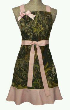 Mossy oak Camo apron!