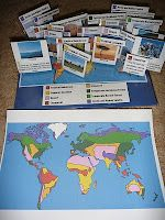 World Biomes Pin Map  from The Homeschool Den
