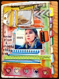 Crafting Ksenia: DLP: Week 2 (selfie) and Week 9 (a flap to a flap)