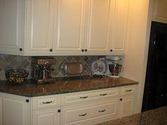 inspiration, floors, appliances, colors, white cabinets dark granite