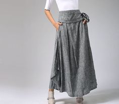 soft gray skirt line