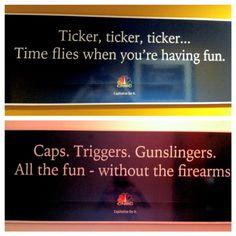 CNBC Headquarters office decor