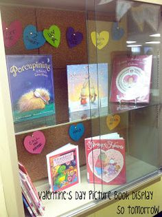 Valentine's Day Picture Book Display