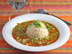 A Healthier Gluten-Free Crawfish and Crab Gumbo Recipe (Recipe Redux) - Jeanette's Healthy Living