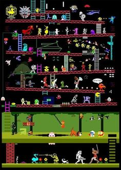 *Best Retro Video Game Picture EVER*  How many can you name? Fun. #taymai