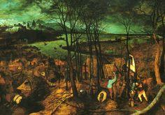 Pieter Brueghel. The Dark Day 1565. Kunsthistoriches Museum, Vienna.