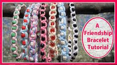 EasyMeWorld: How To Make A Friendship Bracelet - An Easy Kids Craft!