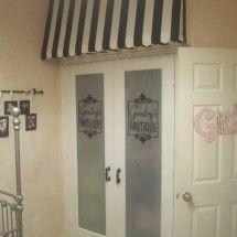 so cute for a little girls closet!