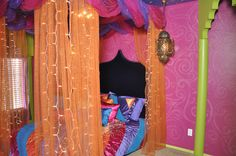 Aladdin Theme Room Bohemian Canopy Bed More Jeannie Theme Bedrooms
