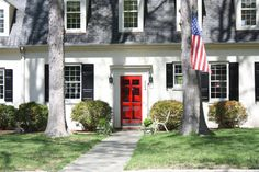 Colorful Front Doors | Bright Bold and Beautiful