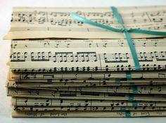 musical gift wrap. fa-la-la-la-la!