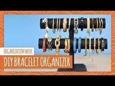 ▶ DIY Bracelet Organizer - HGTV Handmade - YouTube