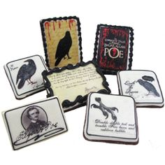 Edgar Allan Poe Edible Wafer Paper