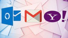 Gmail, Outlook.com, Yahoo! Mail : Le comparatif des messageries en ligne