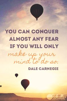 Photo by David Root. #dalecarnegie #conquerfear