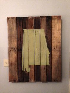 Home is Where the Heart Is Reclaimed Pallet Art