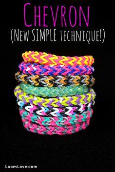 easy chevron bracelet