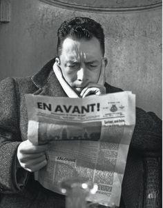 Postcards from Penguin Modern Classics - Albert Camus, photograph: René Saint Paul