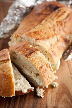 Grilled Cheesy Olive Bread