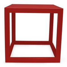 Jonathan Adler | red lacquer cubes