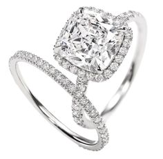 i love this wedding set simple yet beautiful! from Harry Winston